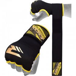 RDX Hosiery Inner Strap - Binnenhandschoenen met polsbandZwart - Maat: XL