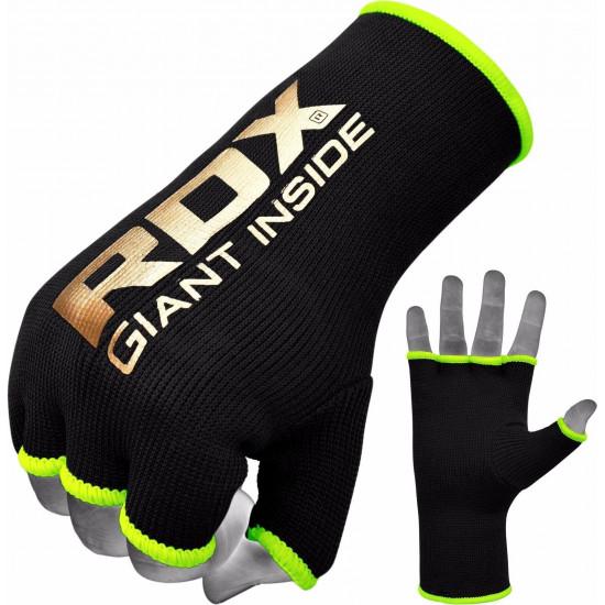 RDX Hosiery Inner - BinnenhandschoenenZwart/Groen- Maat: XL