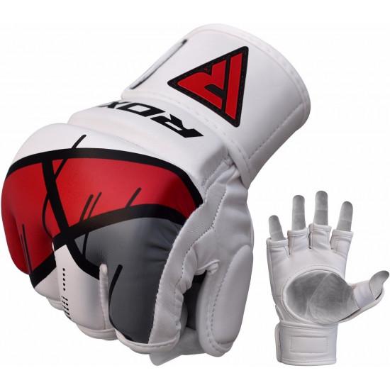 RDX Grappling Gloves REX T7Rood M
