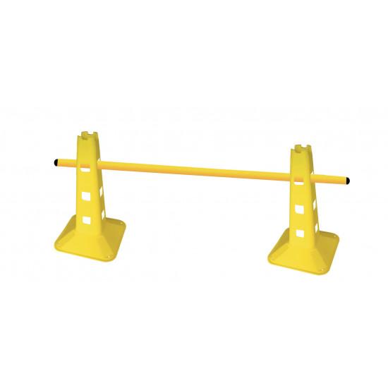 Toorx AHF-172 Set van 10 trainingsstangen 170 cm voor agility cones