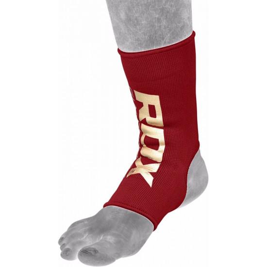 RDX Hosiery Ankle Sleeve - EnkelbeschermerRood- Maat: M
