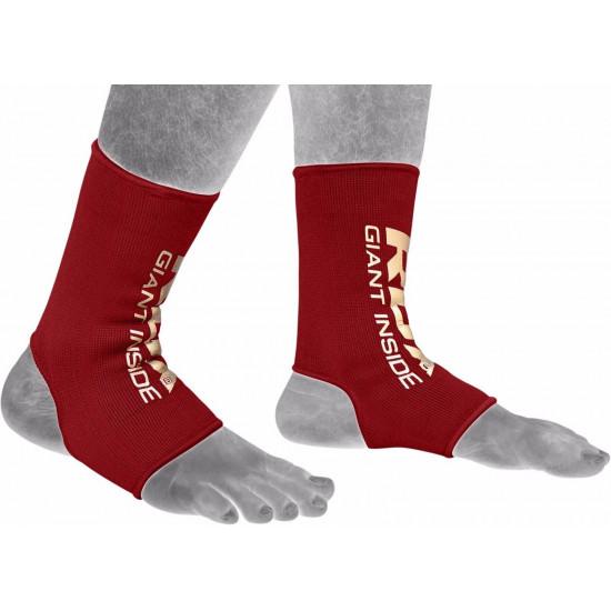 RDX Hosiery Ankle Sleeve - EnkelbeschermerRood- Maat: L