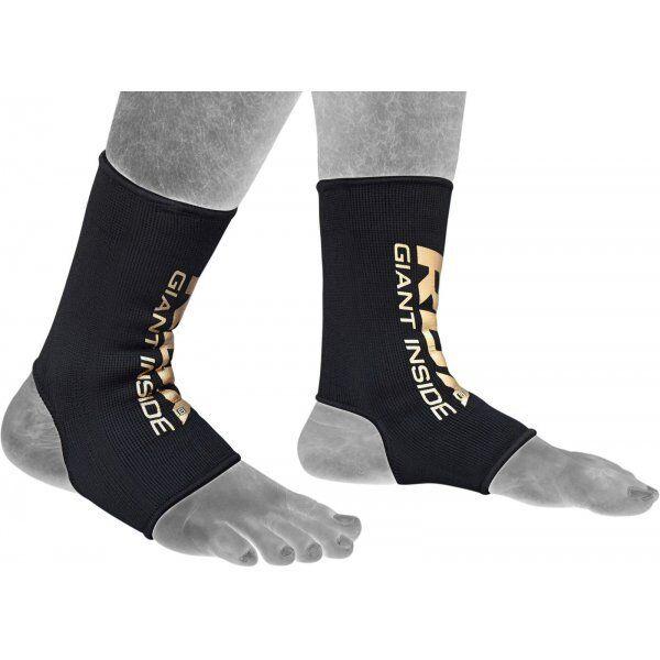 RDX Hosiery Ankle Sleeve - EnkelbeschermerBlauw- Maat: M