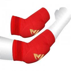 RDX Sports HY Elleboog padsRood/Goud - Maat XL