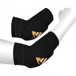 RDX Sports HY Elleboog padsRood/Goud - Maat L