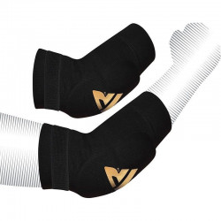 RDX Sports HY Elleboog padsZwart/Goud - Maat XL