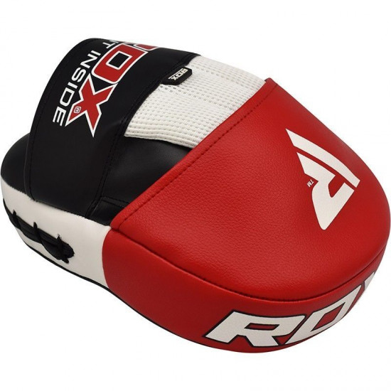 RDX Focus Pads Rex Curve T1 - Rood/Zwart