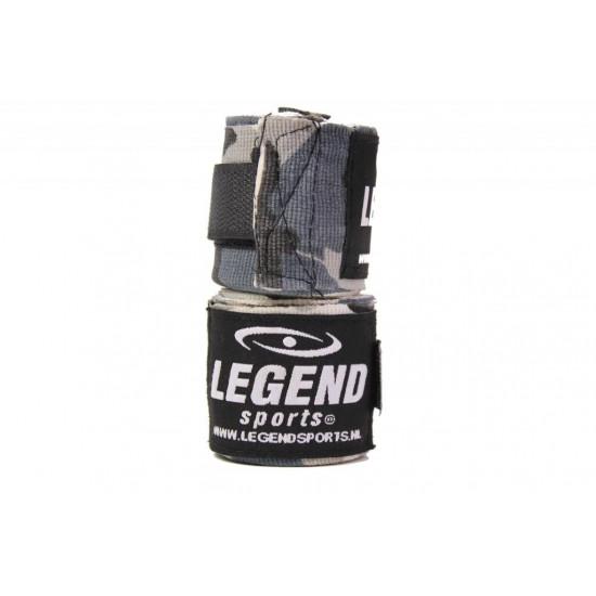 Bandages 4,5M Legend Premium  diverse kleuren - Kleuren: Zwart extra rek