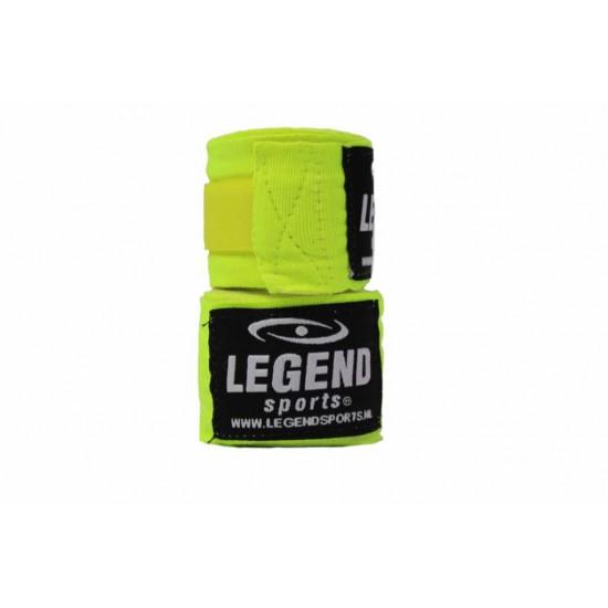 Bandages 4,5M Legend Premium  diverse kleuren - Kleuren: Neon Groen