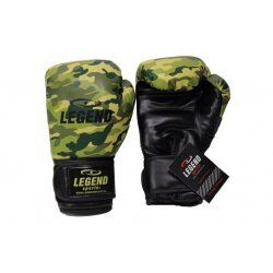 Bokshandschoenen Camo Army powerfit Protect - Maat: 16oz