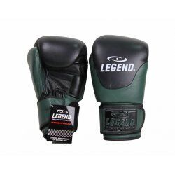 Leren Bokshandschoenen Legend Thai series Army - Maat: 14oz