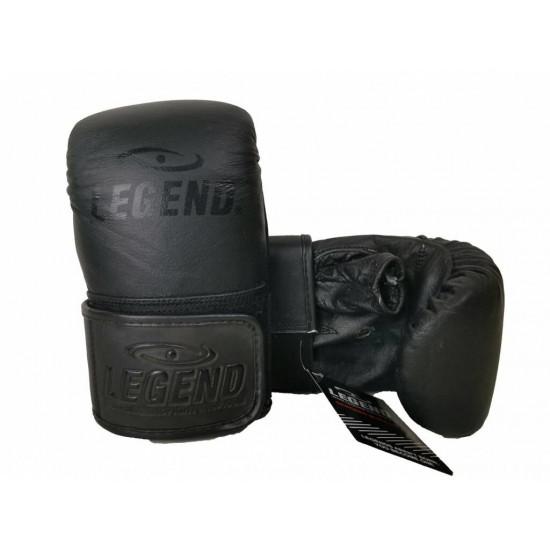 Leren zakhandschoenen voor op de bokszak - Maat: XL