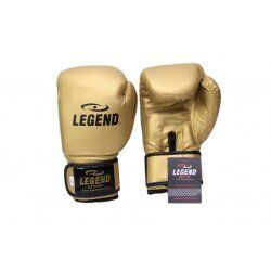 Bokshandschoenen goud powerfit Protect - Maat: 10oz