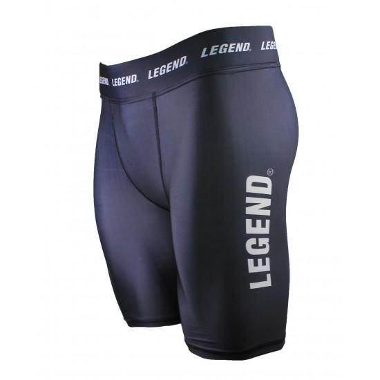 Legend DryFit short Zwart/Wit - Maat: M