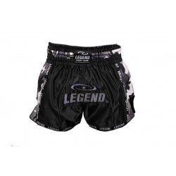 Kickboks broekje camo grijs Legend Trendy  - Maat: XXL