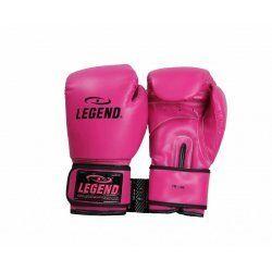 Bokshandschoenen dames roze powerfit Protect - Maat: 12oz
