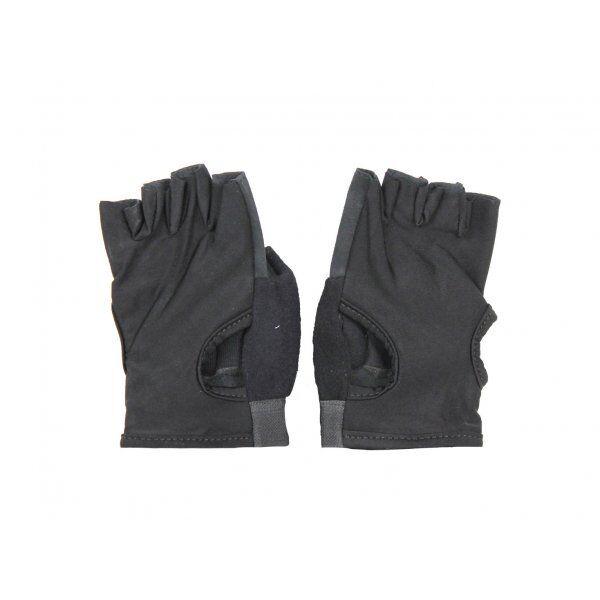 Fitness handschoenen Easy Drifit zwart Legend - Maat: L