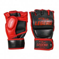 leren Bokszak - MMA Handschoenen Legend met duim - Maat: M
