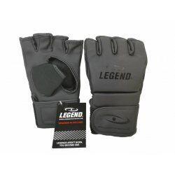 MMA Bokszak handschoenen Legend Flow Mat Zwart - Maat: M