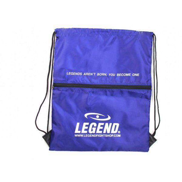 Handige sporttas met vakje Blauw