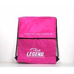 Handige dames sporttas met vakje Roze