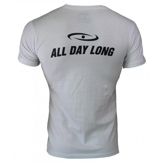 t-shirt wit Slimfit Legend - Maat: L