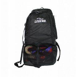 Sporttas Legend aanpasbaar backpack tas 2 in 1 zwart